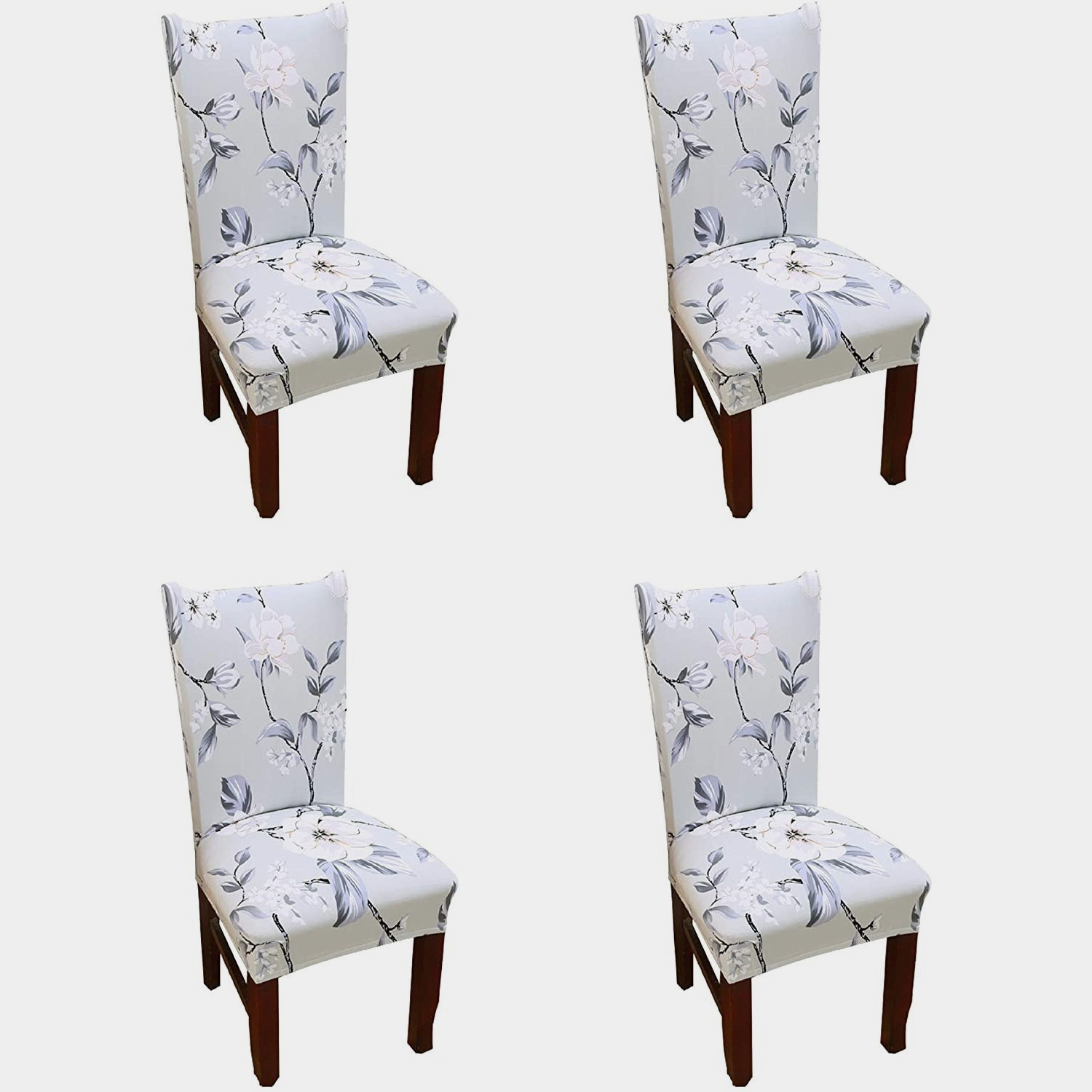 Picture of: Argstar 4 Pack Chair Covers Stretch Armless Chair Slipcover For Dining Room Seat Cushion Argstar